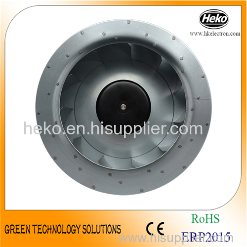 DC 280*125mm Backward Curved Centrifugal Fan