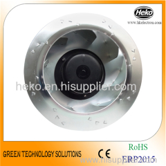 DC 280*150mm Bakcward Curved Centrifugal Fan