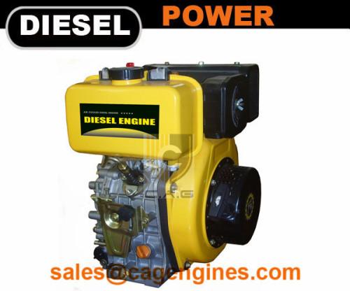 10HP Air cooled 4-stroke Diesel Engine