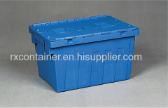 Plastica coperchio attaccato Container