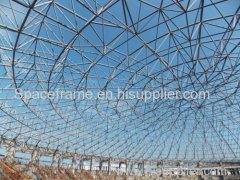 石炭ストレージシェッドスチールスペースフレームドーム鋼構造屋根