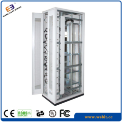 Galvanized electrical cabinet with plinth