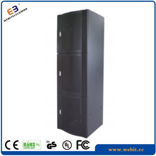 Multi section server rack