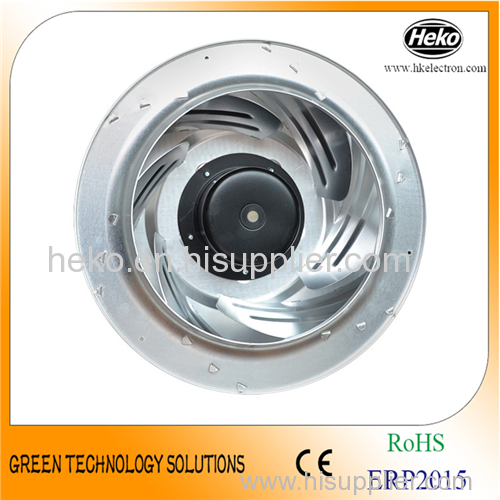 DC 355*171.5mm Centrifugal Fan - Backward Curved with 102mm Motor