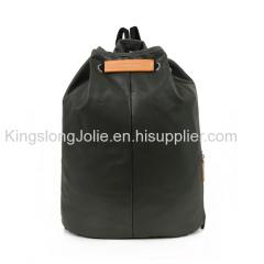 Stylish Custom Waterproof Canvas Drawstring Backpack