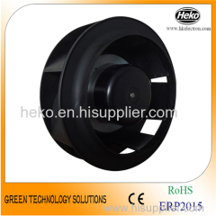 EC-AC Input 175*95mm Backward Curved Centrifugal Fan