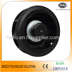 EC-AC Input 225*125mm Backward Curved Centrifugal Fan