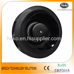 EC-AC Input 250*122mm Backward Curved Centrifugal Fan