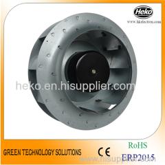 EC-AC Input 250*128.5mm Backward Curved Centrifugal Fan