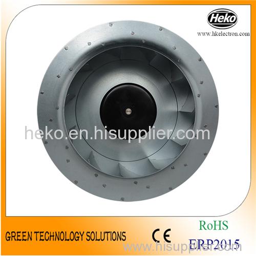 EC-AC Input 280*154.5mm Backward Curved Centrifugal Fan