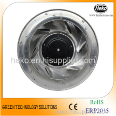 EC-AC Input 310*149.5mm Backward Curved Centrifugal Fan