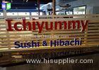 LED Channel Letters Face Lit Custom Lighted Signs For Business Ultra Bright
