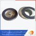 gold electroplating steel cartridge filter spare parts end cap