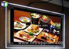 Ceiling Hanging LED Photo Display Light Box Poster Import Acrylic Panel Double Side