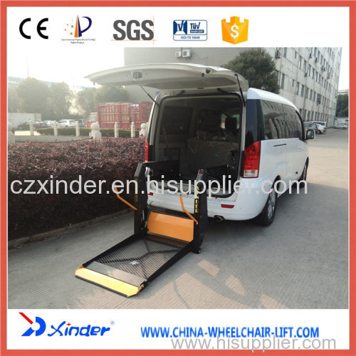 wheelchair lift for van wl d 880 manufacturer from china changzhou