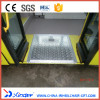 FMWR-1 Fold Manual Wheelchair Ramp For Bus Load 350KG
