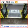 FMWR-1 Fold Manual Wheelchair Ramp For Bus Load 350KG