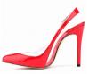 Women buckle pointy toe high heel sandals
