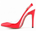 Ladies buckle pointy toe high heel dress sandals