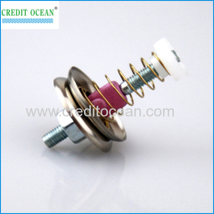 Yarn tensioner device of needle loom