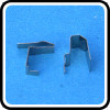 Customized Beryllium copper battery clips from Bosi