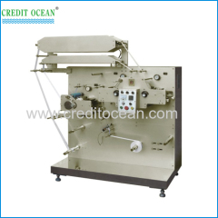 CREDIT OCEAN brand garment label flexo printing machine