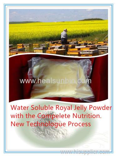 water Soluble Royal jelly Powder enzyme treated royal jelly 100% nutrition water soluble royal jelly powder