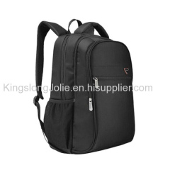 Black backpack custom laptop bag from Guangzhou Factory
