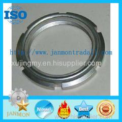 Hexangular Self-Locking Nut With Nylon Hex nylon lock nut Zinc plated hex nylon lock nut Nylon self lock nut zinc hexNUT