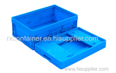 Heavy duty plastic moving box