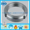 :Balance Shaft Round Nut output shaft nut zinc plated nut hex nut stainless steel round nut Zinc galvanized balance nut