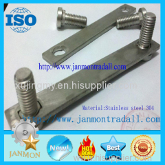 Stainless steel bolts Stainless steel round head bolts Stainless steel bolts with metal plates Bolts with metal plates