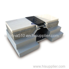 flush mounted aluminum expansion joint for concrete floor