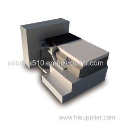 Rubber Floor corner joint in building material