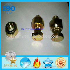 Customized High Strength Yellow Zinc Plated Wheel Bolts and Nut For Tractor and Truck Grade 10.9 yellow zinc bolt nut