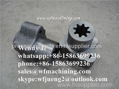 OEM Forged Steel Forging Crankshaft Forging Motor Parts of Hot Forging