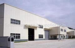 Low cost prefabricated light steel frame building warehouse