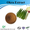 High Quality Okra Extract powder sales price wholesale service OEM