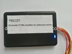 Ultrathin 12V 15W bluetooth audio receiver for bathroom mirror furniture