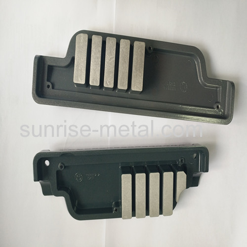 Dakota Gray finish customized aluminm die casting parts