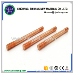 Strong corrosion resistance copper coated earth bar