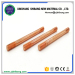 Strong corrosion resistance copper coated steel earth bar