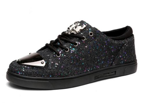 Metal Toe Men Causal Shoe