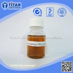 Clodinafop-propargyl CAS 105512-06-9 Cloquintocet-mexyl 95%TC 8� 24� 15%WP Topik herbicide