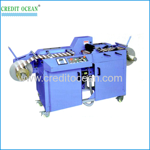 CREDIT OCEAN ultrasonic label slitting machine