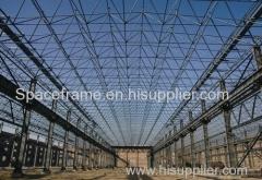 cornice spaziale tetto della struttura in acciaio del sistema
