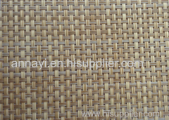 rattan color textilene fabric in PVC coated mesh fabric cloth for outdoor garden furniture