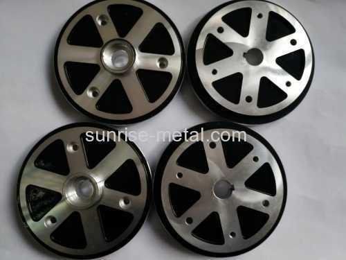 Tire airless rim die casting parts
