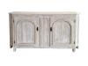 old fir wooden cabinet