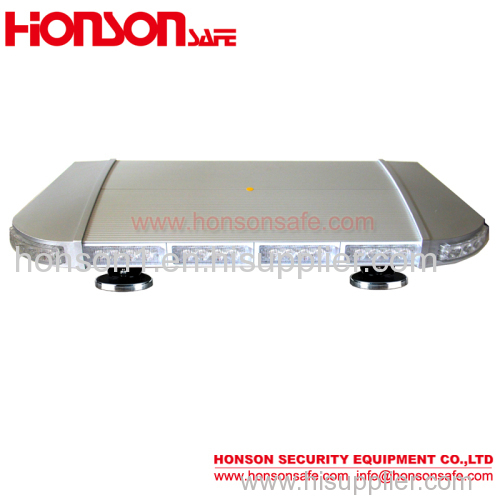 High Power LED security warning minibar emergency light bar for vehicle